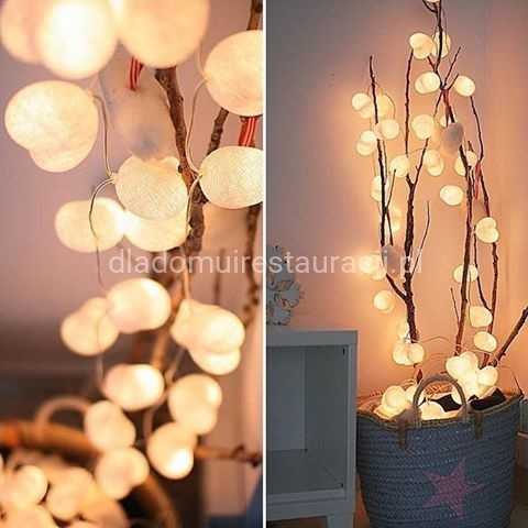 Girlanda Świetlna Cotton Balls Lights 2m